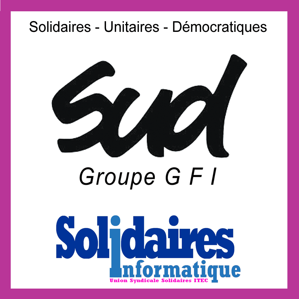 logo, accueil, SUD GFI, Syndicat, Solidaires